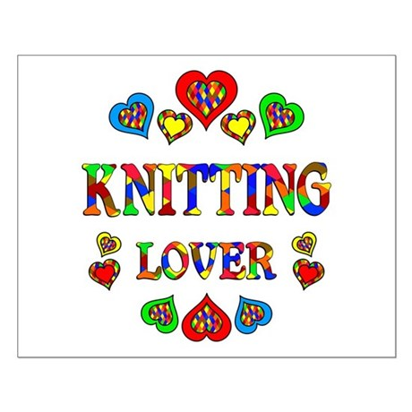 Knitting Lover Small Poster