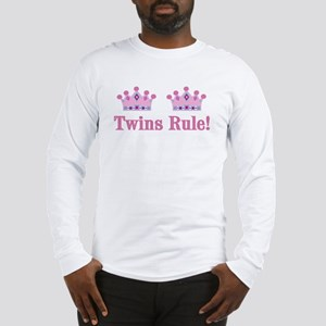 Twins Rule! (Girls) Long Sleeve T-Shirt