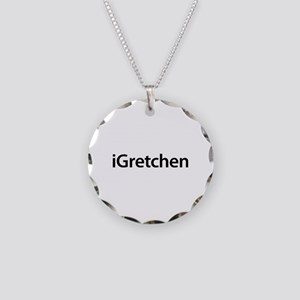 iGretchen Necklace Circle Charm
