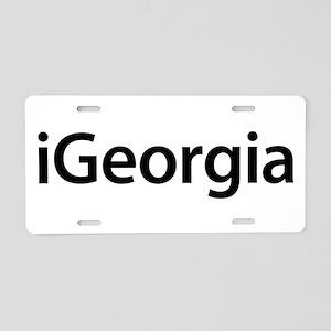 iGeorgia Aluminum License Plate