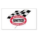 United Rectangle Sticker