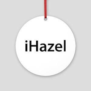 iHazel Round Ornament