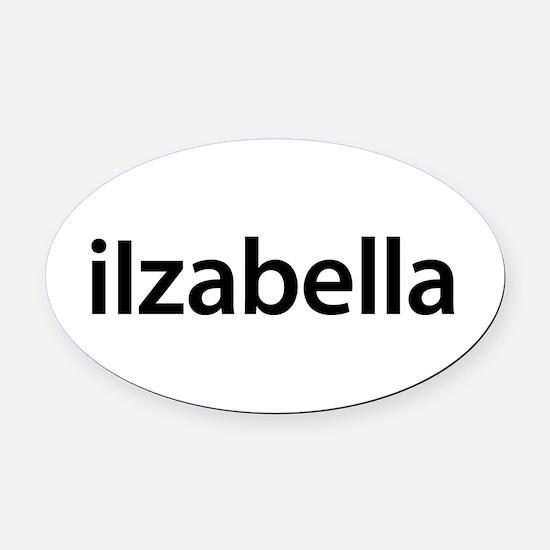iIzabella Oval Car Magnet
