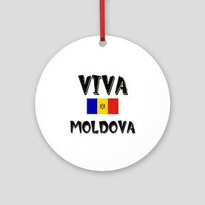 Viva Moldova Ornament (Round)