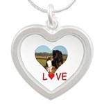 Love Hearts Silver Heart Necklace