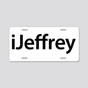 iJeffrey Aluminum License Plate