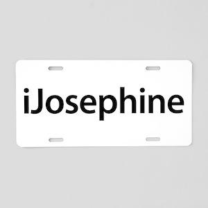 iJosephine Aluminum License Plate