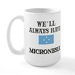 Flag of Micronesia Large Mug