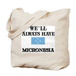 Flag of Micronesia Tote Bag