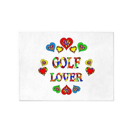Golf Lover 5'x7'Area Rug
