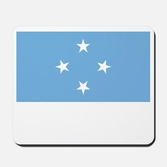 Micronesia Flag Picture Mousepad