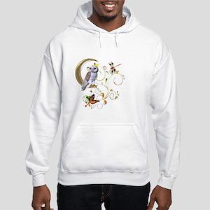 Owl Fantasy Hooded Sweatshirt