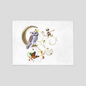 Owl Fantasy 5'x7'Area Rug
