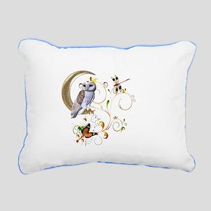 Owl Fantasy Rectangular Canvas Pillow