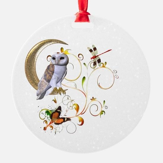Owl Fantasy Ornament
