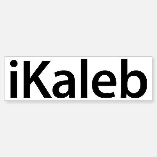 iKaleb Bumper Bumper Bumper Sticker
