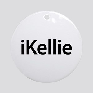iKellie Round Ornament