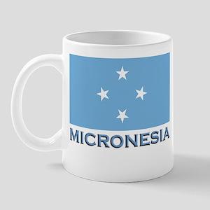 Micronesia Flag Gear Mug
