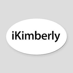 iKimberly Oval Car Magnet