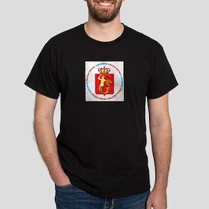 digiart  Black T-Shirt