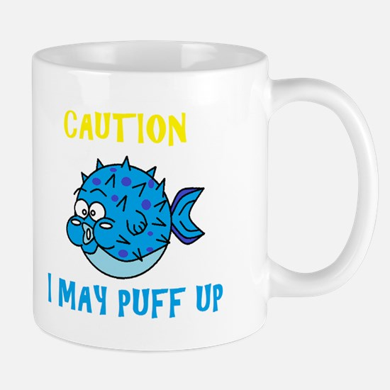 Don't Puff Up! Mug