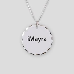 iMayra Necklace Circle Charm