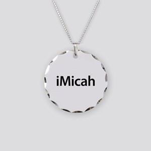 iMicah Necklace Circle Charm