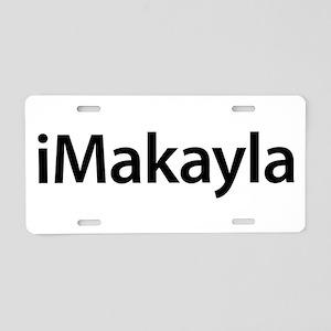 iMakayla Aluminum License Plate
