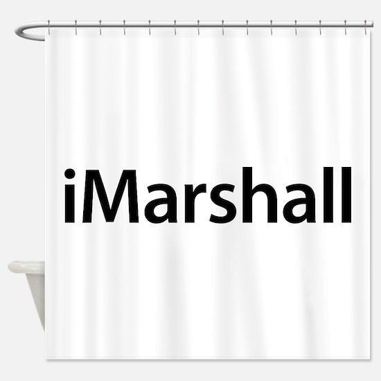 iMarshall Shower Curtain