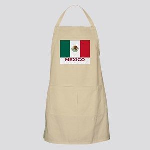 Mexico Flag Stuff BBQ Apron