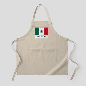 Mexico Flag Merchandise BBQ Apron