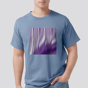abstract purple grey Mens Comfort Colors Shirt