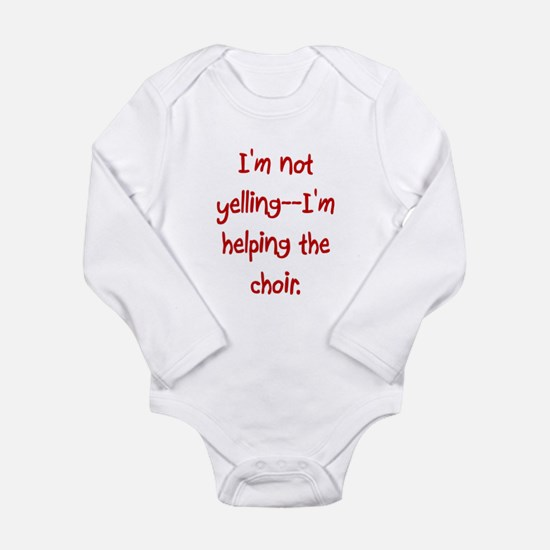 Youngest Soprano Long Sleeved Onesie Body Suit