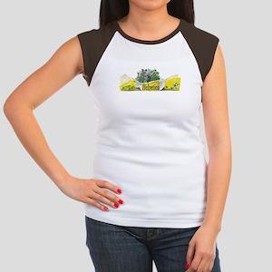Helvetica Fun Humour Women's Cap Sleeve T-Shirt