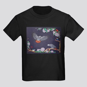 Tropical African Paradise Kids Dark T-Shirt