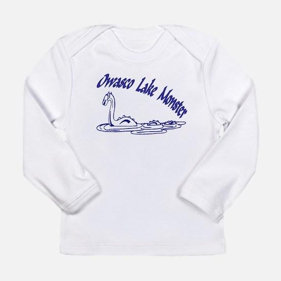 Owasco Lake Monster Long Sleeve Infant T-Shirt