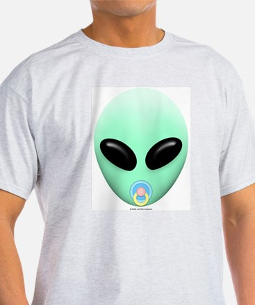 Baby Alien Ash Grey T-Shirt