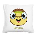 Turtle Dreamer™ Square Canvas Pillow