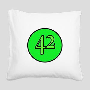 42 Square Canvas Pillow