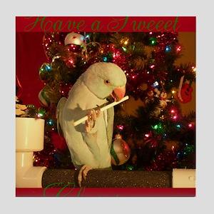 Sweeet Christmas Tile Coaster