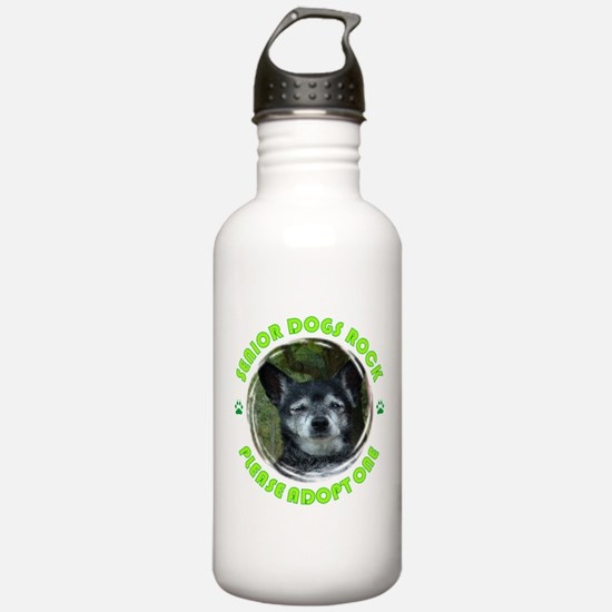 Adopt A Senior Dog Water Bottle