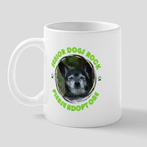 Adopt A Senior Dog Mug