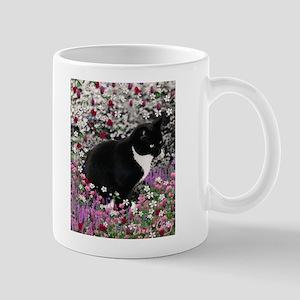Freckles in Flowers II Mug
