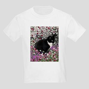 Freckles in Flowers II Kids Light T-Shirt