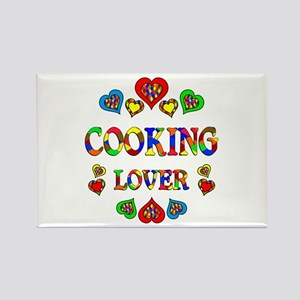 Cooking Lover Rectangle Magnet
