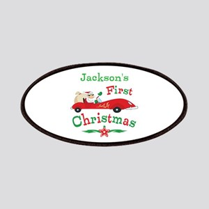 Custom 1st Christmas Patches