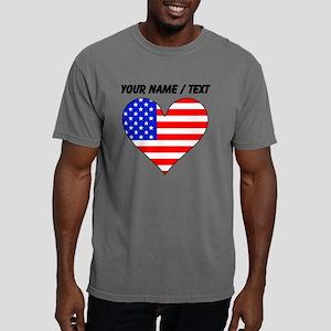 Custom United States Fla Mens Comfort Colors Shirt