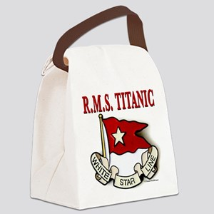 White Star Line (white) Canvas Lunch Bag
