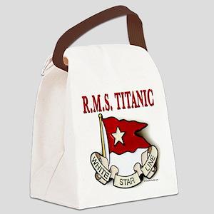 White Star Line (white) Canvas Lunch Bag