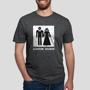 gameoverDrk Mens Tri-blend T-Shirt